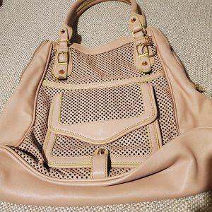 Jessica Simpson Handbag Rose Beige and Green